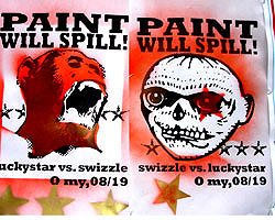 paint will spill posters